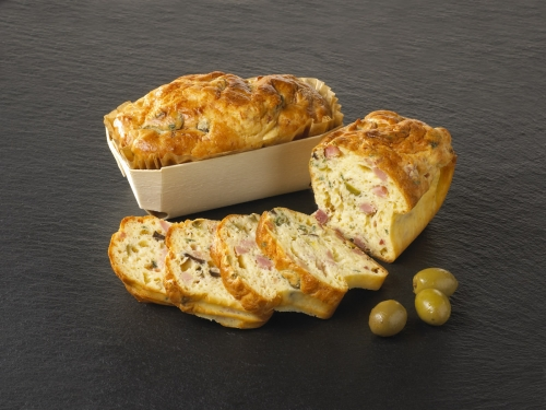 Mini Cake Jambon Olives